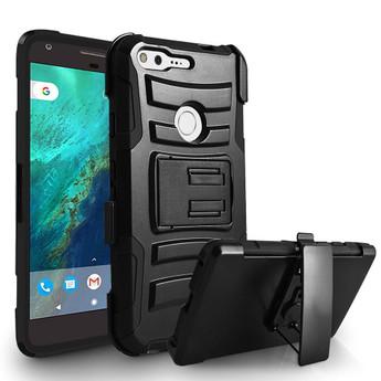 Google Pixel Case W Kickstand Black