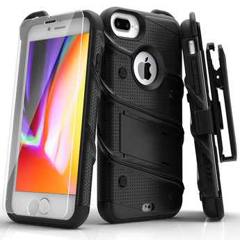 BLACK ZIZO BOLT SERIES CASE IPHONE