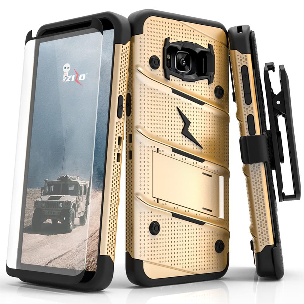 S7 EDGE ZIZO BOLT SERIES CASE