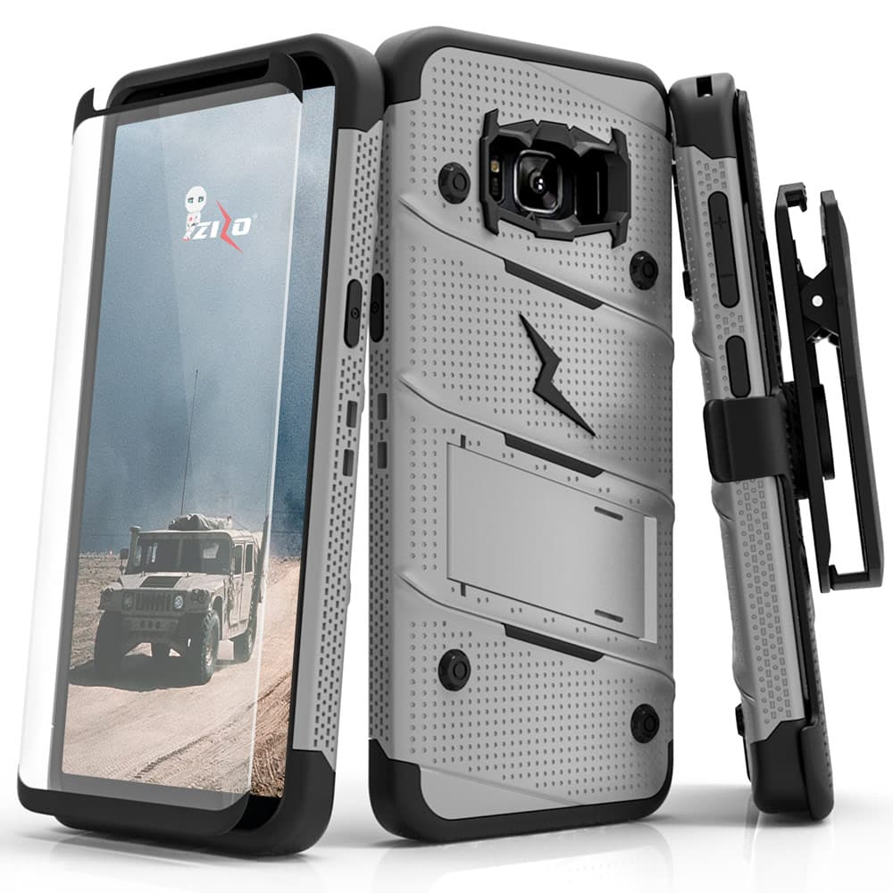 GRAY & BLACK ZIZO BOLT CASE