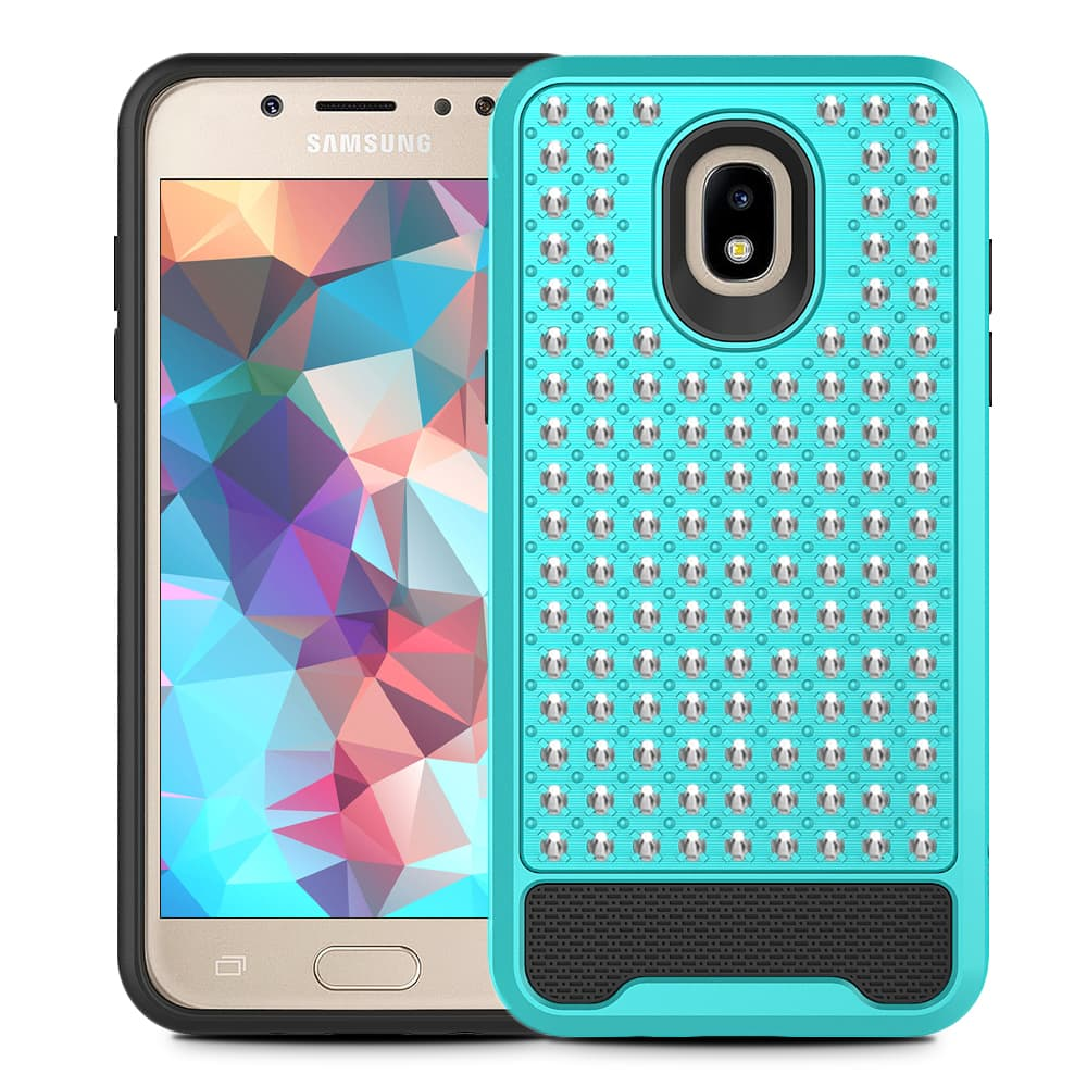 TEAL GALAXY J7 2018 CASE