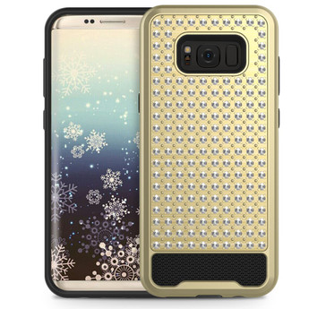 GOLD GALAXY S8 PLUS CASE