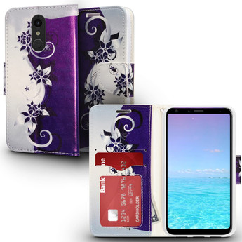 LG STYLO 4 DESIGN WALLET CASE
