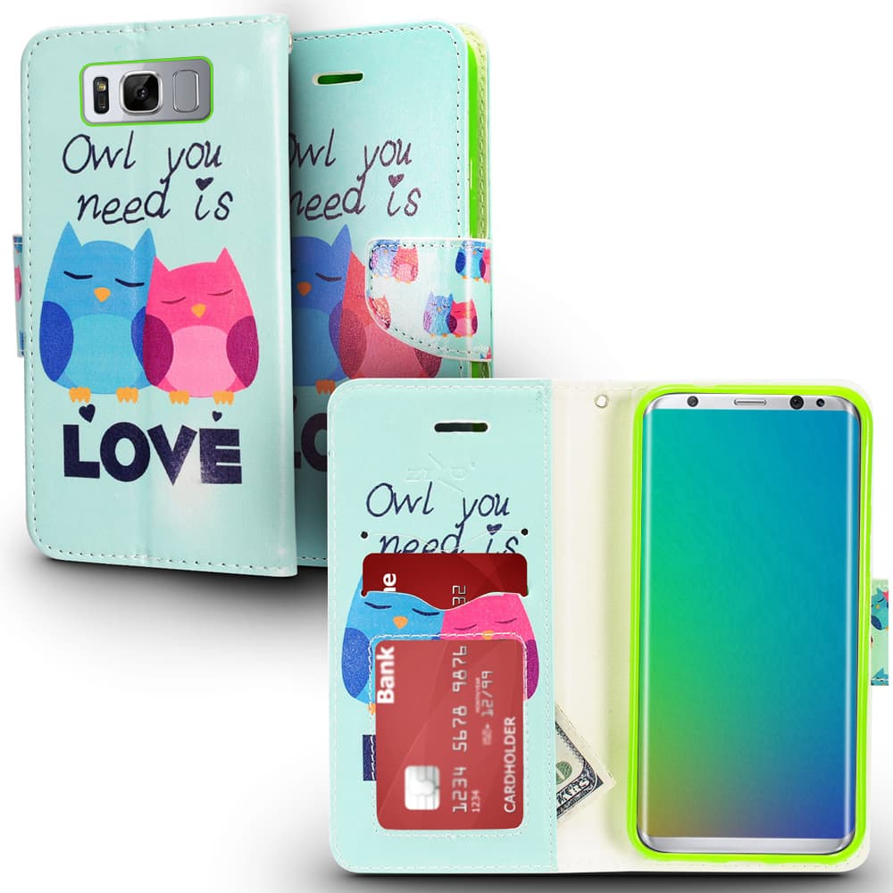 OWL LOVE GALAXY S8 PLUS CASE