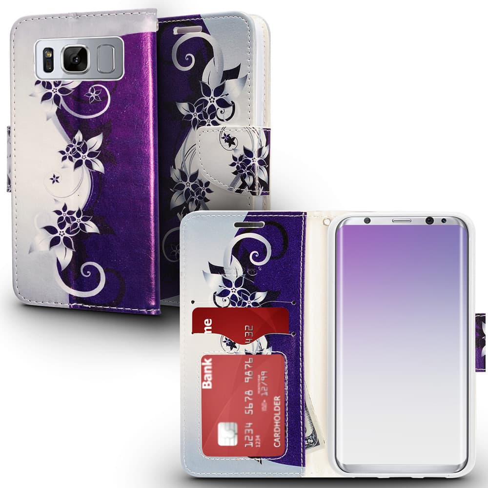 PURPLE VINES GALAXY S8 PLUS CASE