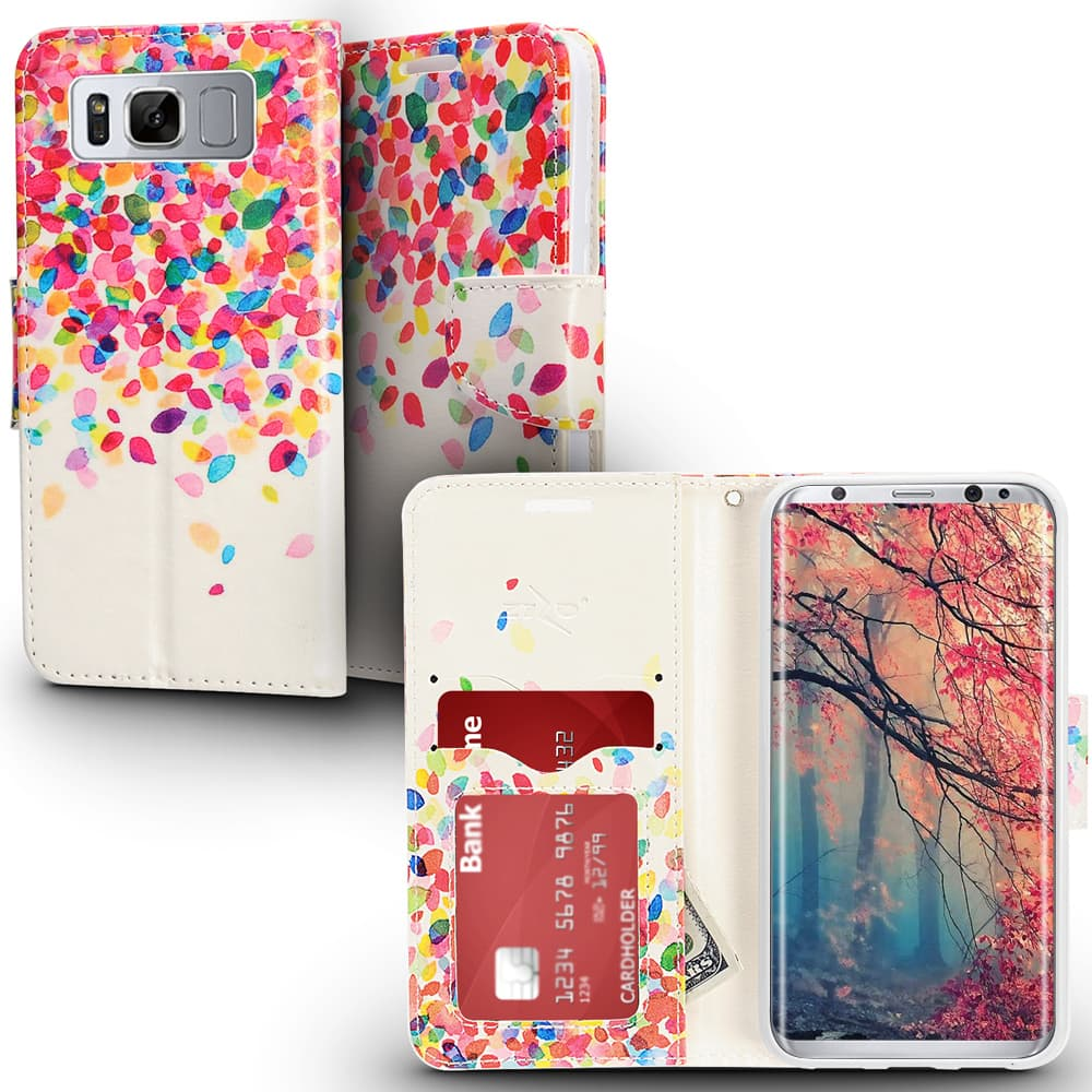 LEAVES DESIGN GALAXY S8 CASE