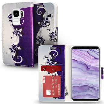 GALAXY S9 DESIGN WALLET CASE