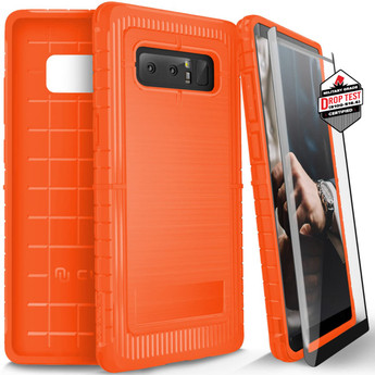 ORANGE GALAXY NOTE 8 CASE