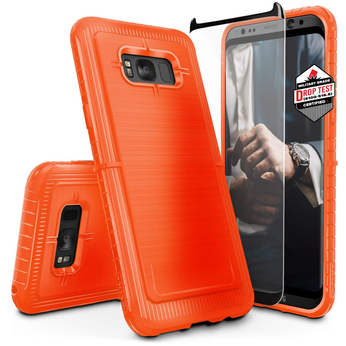 ORANGE GALAXY S8 DYNITE SERIES