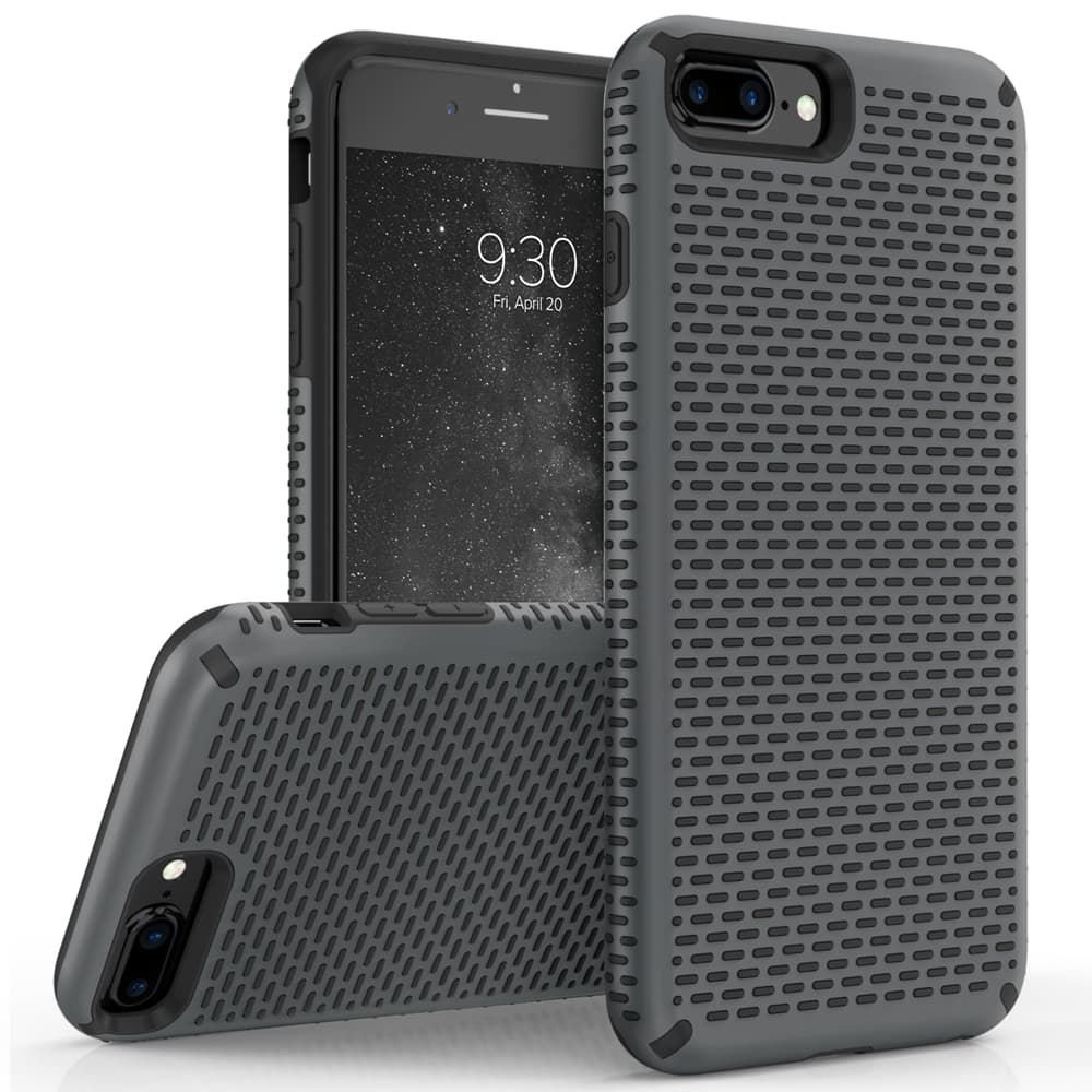 GRAY IPHONE 7 PLUS CASE
