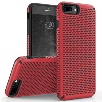 RED IPHONE 7 PLUS CASE