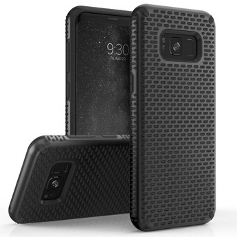 BLACK GALAXY S8 ECHO SERIES CASE