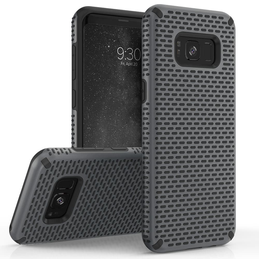 GRAY GALAXY S8 ECHO SERIES CASE