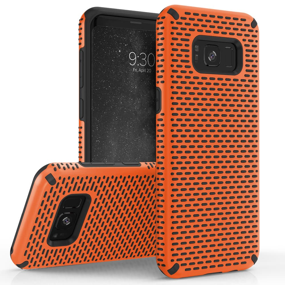 ORANGE GALAXY S8 ECHO SERIES CASE
