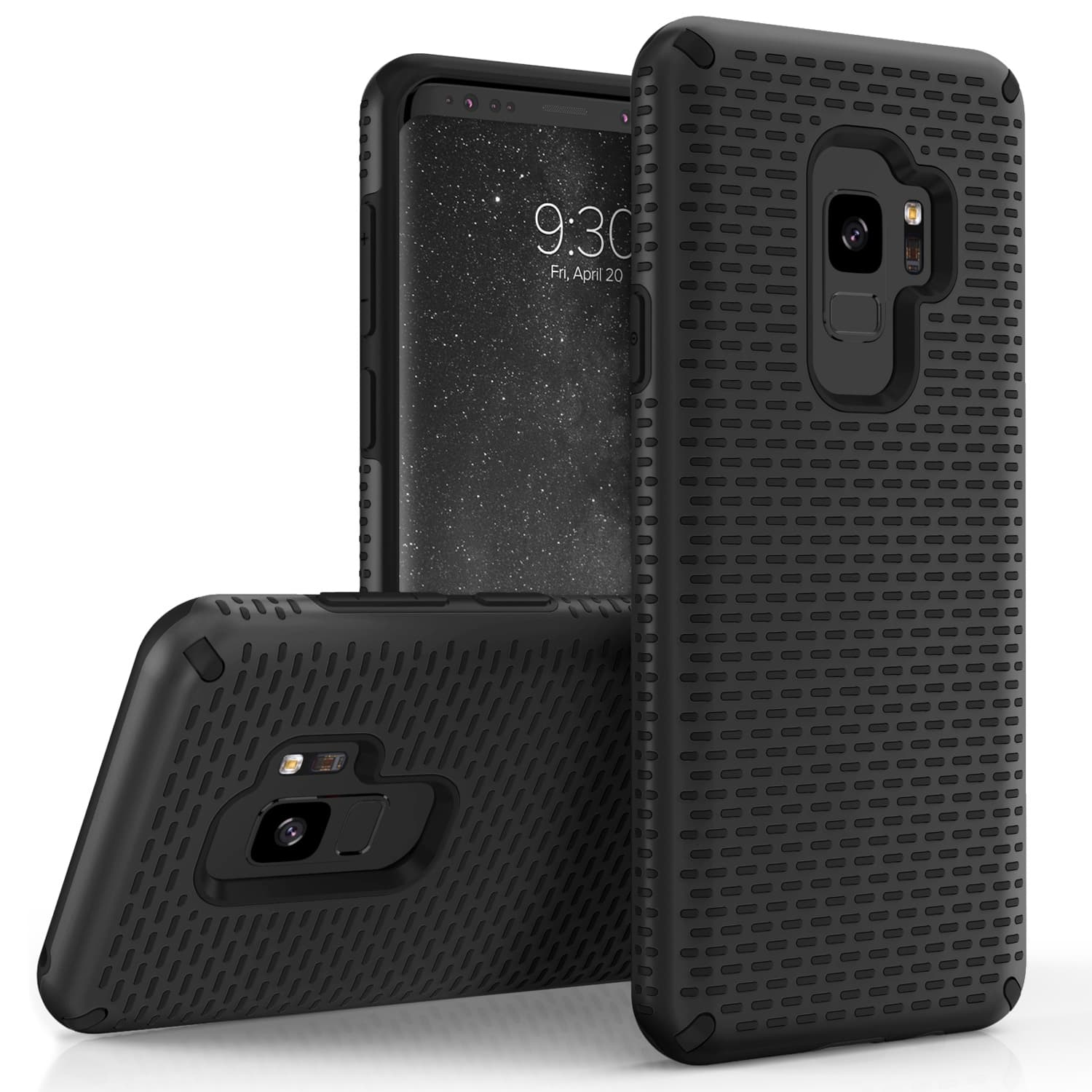 BLACK GALAXY S9 CASE