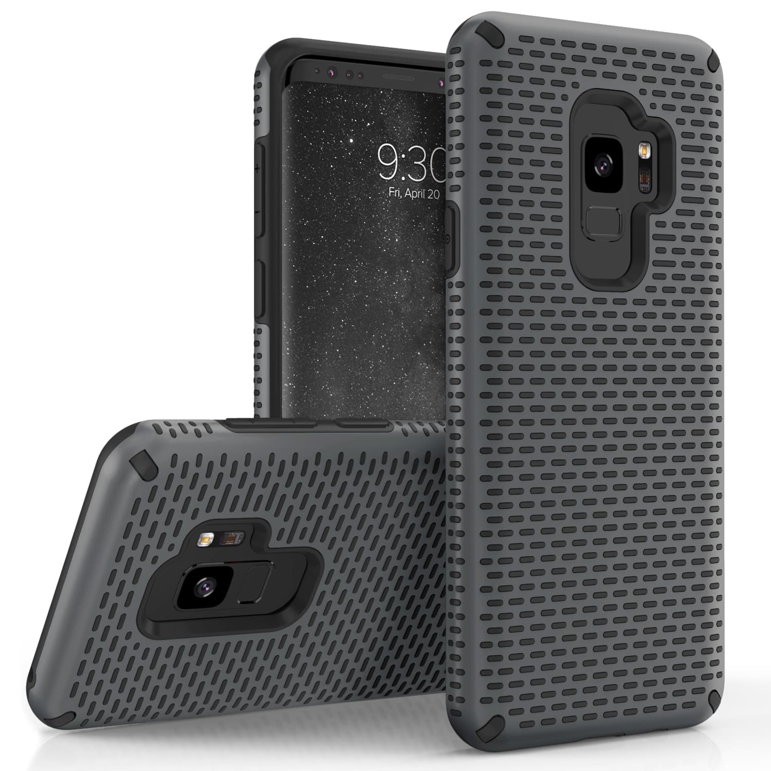 GRAY GALAXY S9 CASE