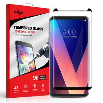 BLACK LG V 30 SCREEN PROTECTOR