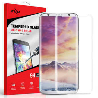 CLEAR GALAXY S8 PLUS SCREEN PROTECT
