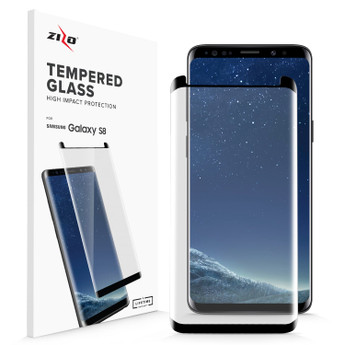 BLACK GALAXY S8 SCREEN PROTECTOR
