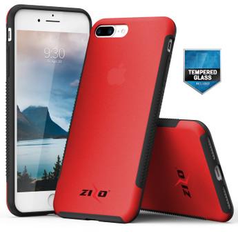 RED IPHONE 7 PLUS CASE