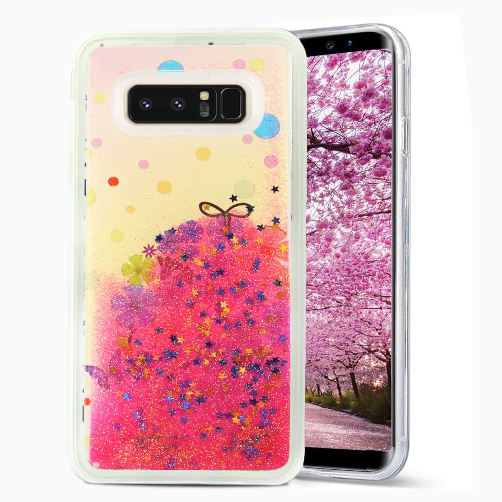 SAMSUNG GALAXY NOTE 8 GLITTER CASE