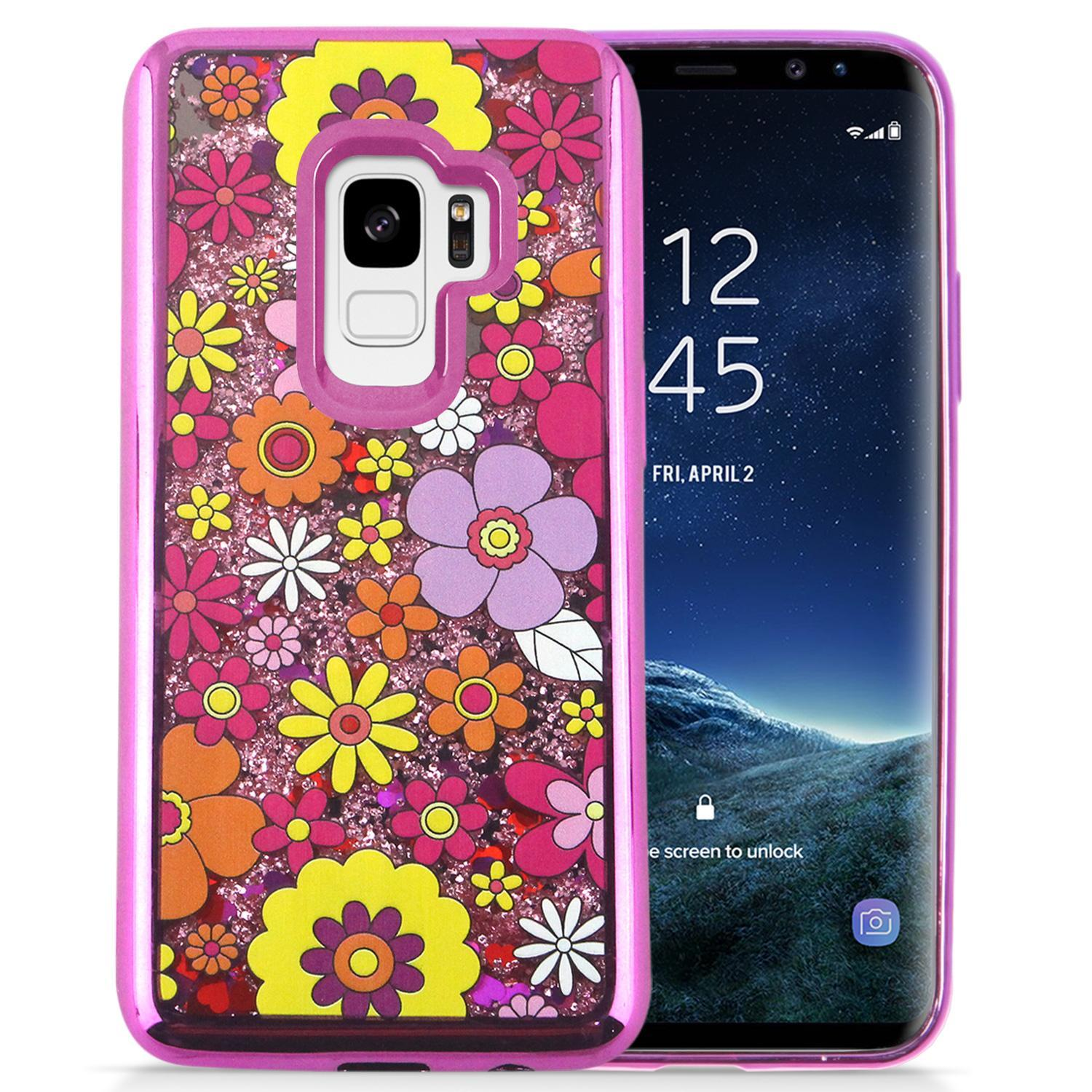 FLOWERS GALAXY S9 CASE