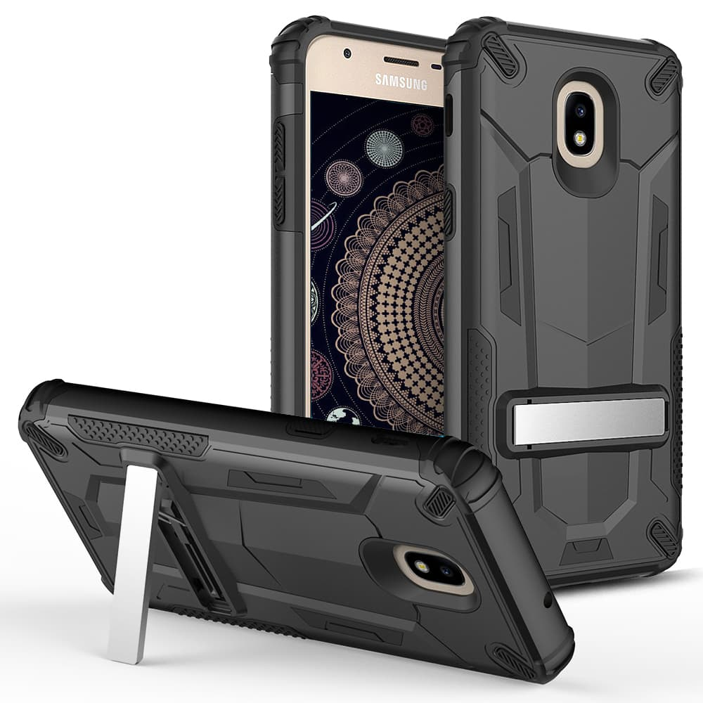 BLACK GALAXY J7 2018 CASE