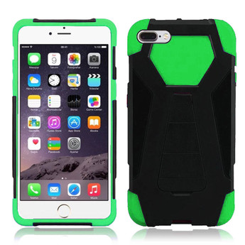 GREEN IPHONE 7 PLUS HYBRID CASE