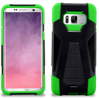 NEON GREEN GALAXY S8 CASE