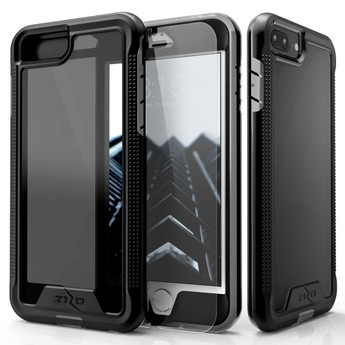 BLACK IPHONE 8 PLUS HYBRID CASE