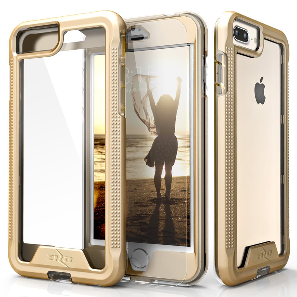 GOLD IPHONE 7 PLUS HYBRID CASE