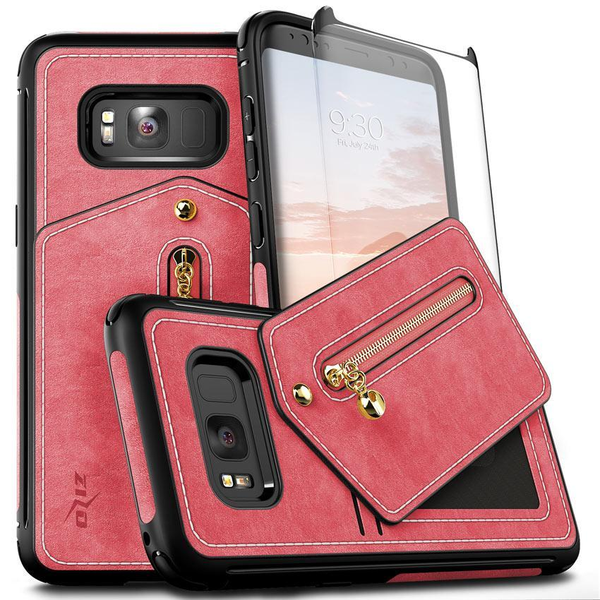 PINK GALAXY S8 PLUS POUCH