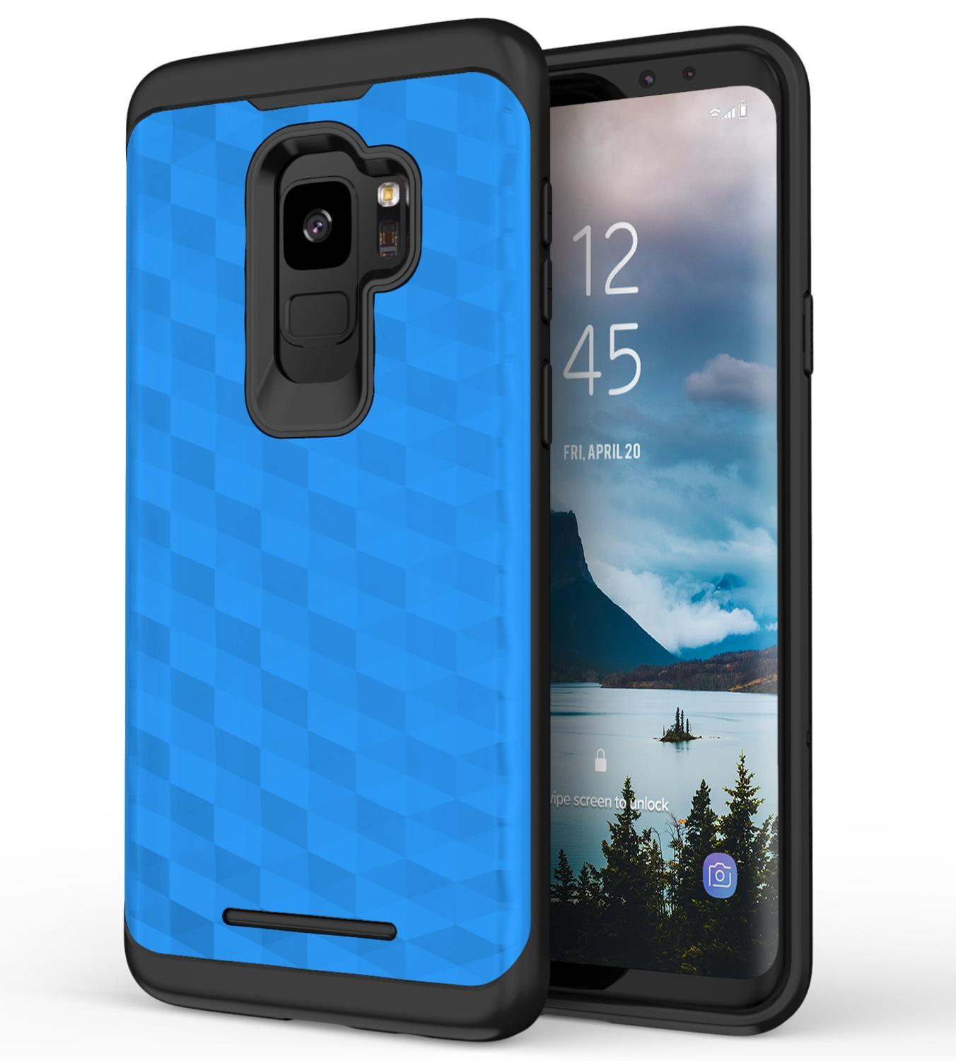 BLUE GALAXY S9 PRISM CASE
