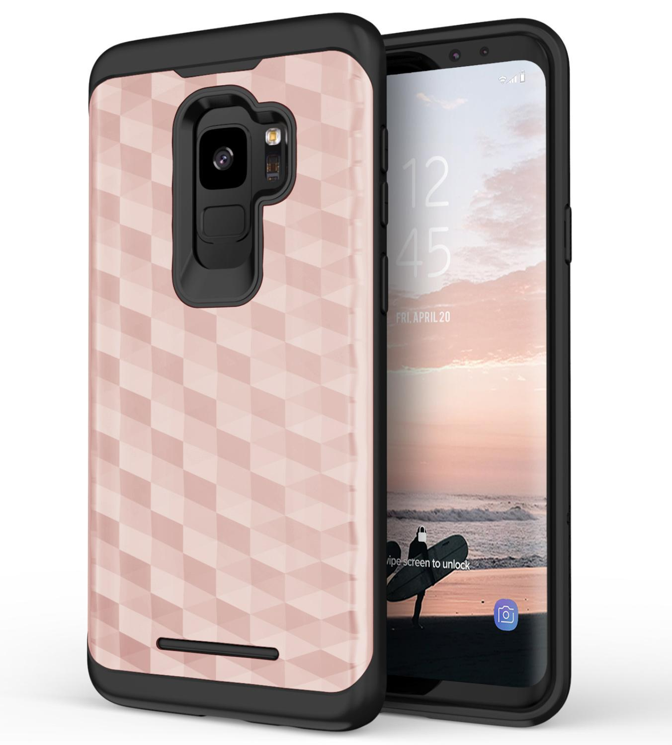 ROSE GOLD GALAXY S9 PRISM CASE