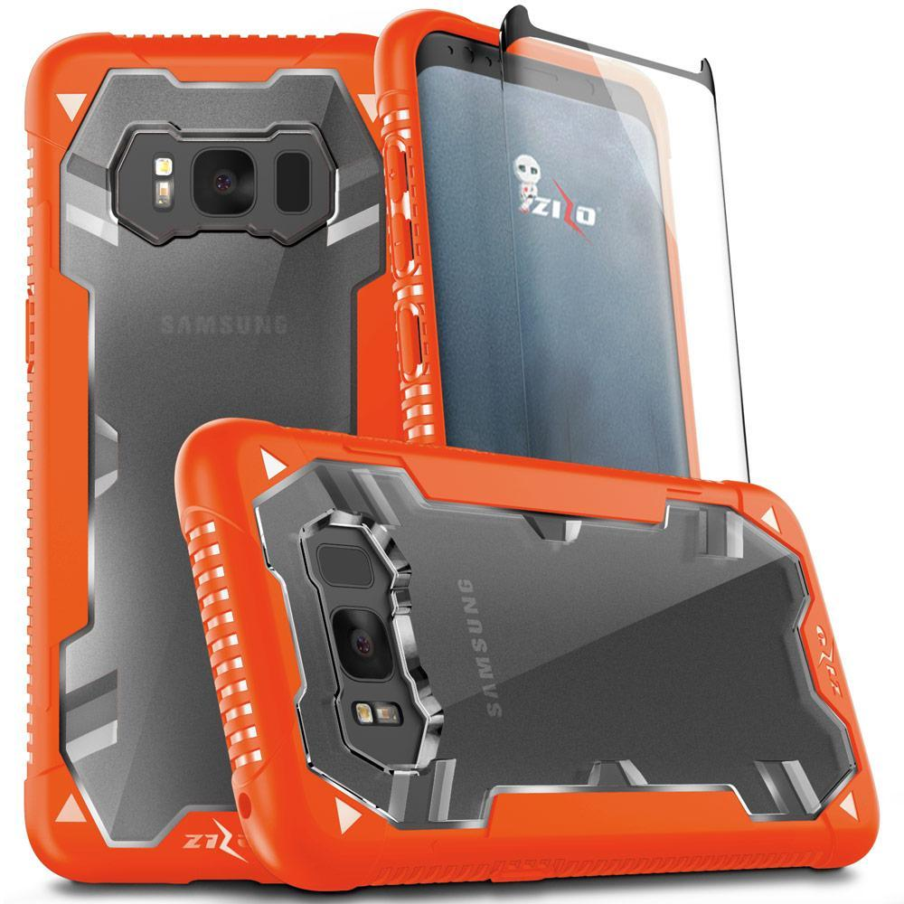 ORANGE GALAXY S8 CASE