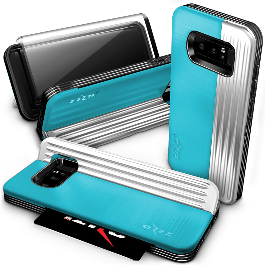 BABY BLUE GALAXY NOTE 8 CASE