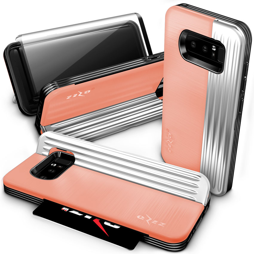 PEACH GALAXY NOTE 8 CASE