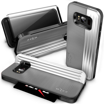 GRAY GALAXY S8 PLUS MILITARY CASE
