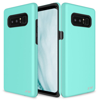 TEAL GALAXY NOTE 8 CASE