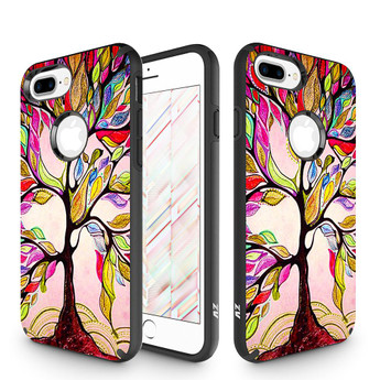 COLORFUL TREES IPHONE 7 PLUS CASE