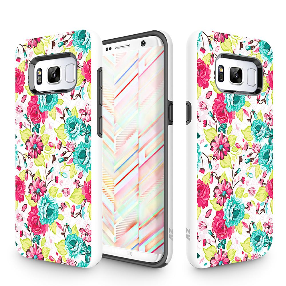 FLOWERS GALAXY S8 PLUS SLEEK HYBRID