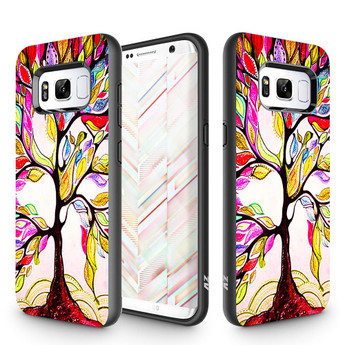 COLORFUL TREE GALAXY NOTE 8 CASE