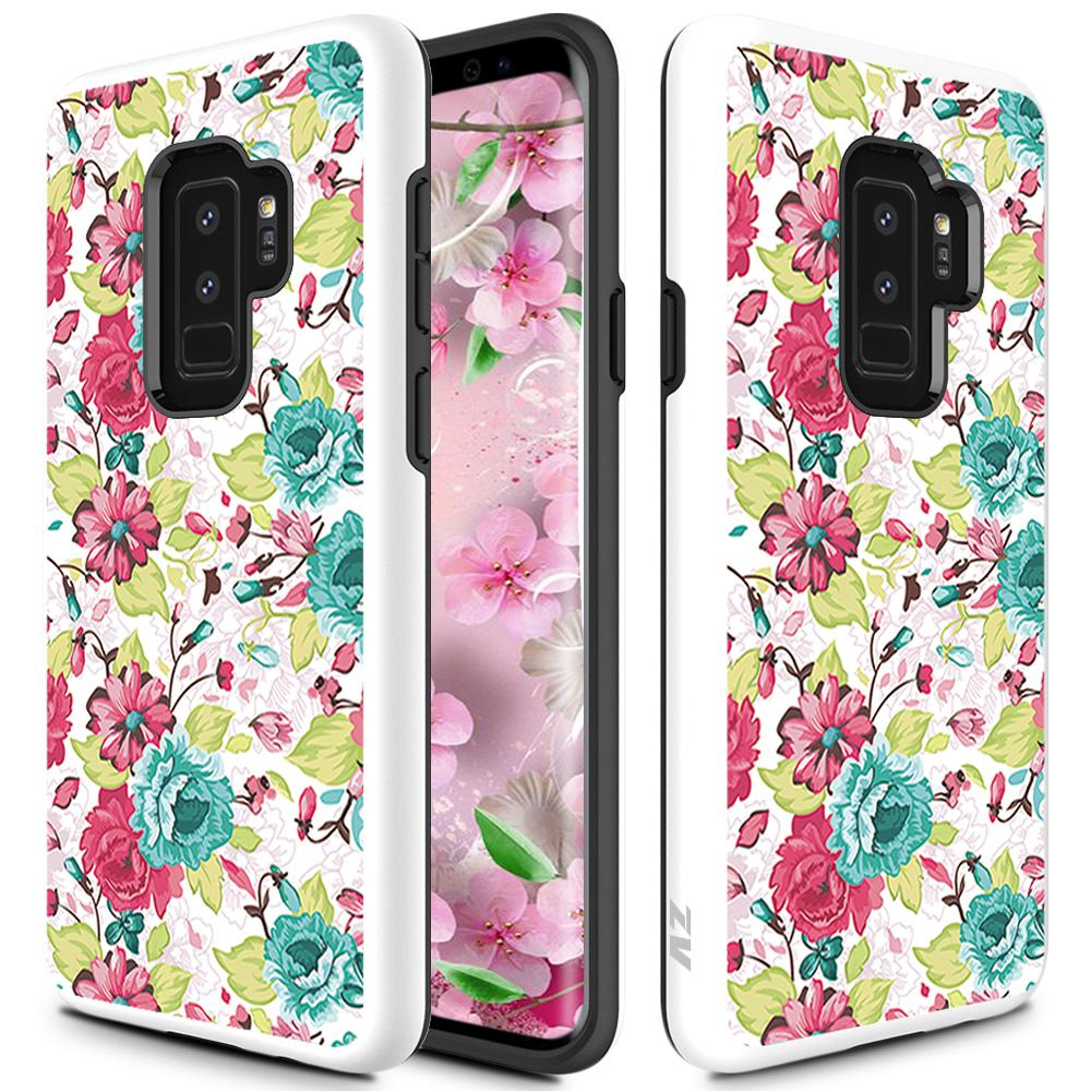 FLOWERS GALAXY S9 PLUS CASE
