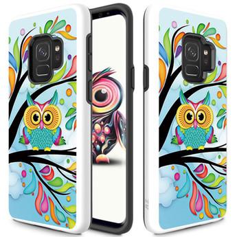 OWL GALAXY S9 CASE