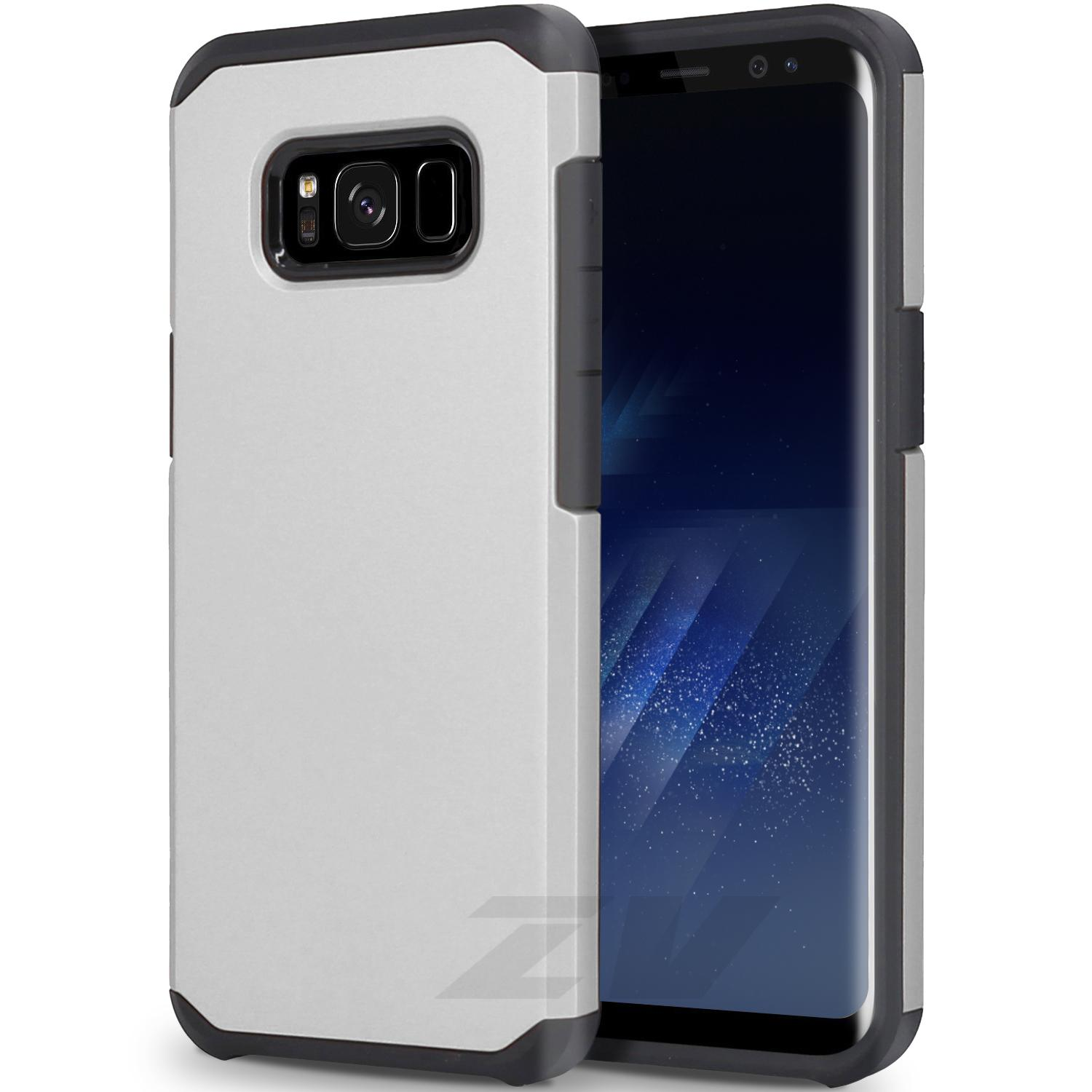 SILVER GALAXY S8 PLUS CASE