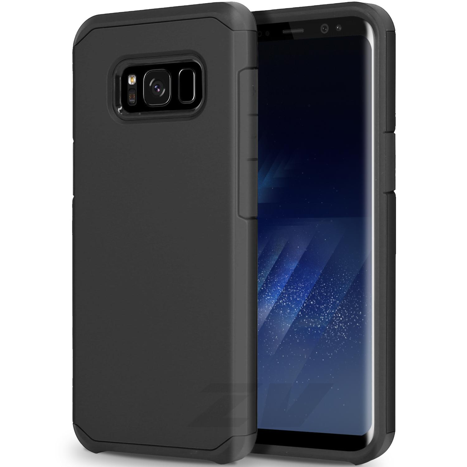 BLACK GALAXY S8 CASE