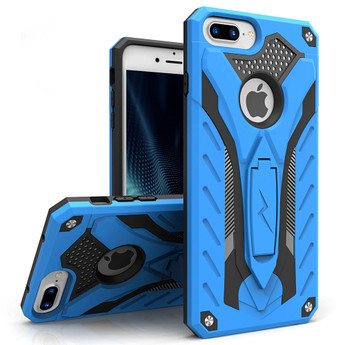 BLUE IPHONE 7 PLUS HEAVY DUTY CASE