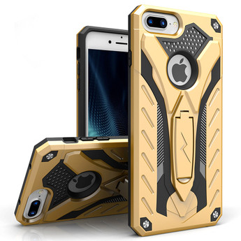 GOLD IPHONE 7 PLUS HEAVY DUTY CASE