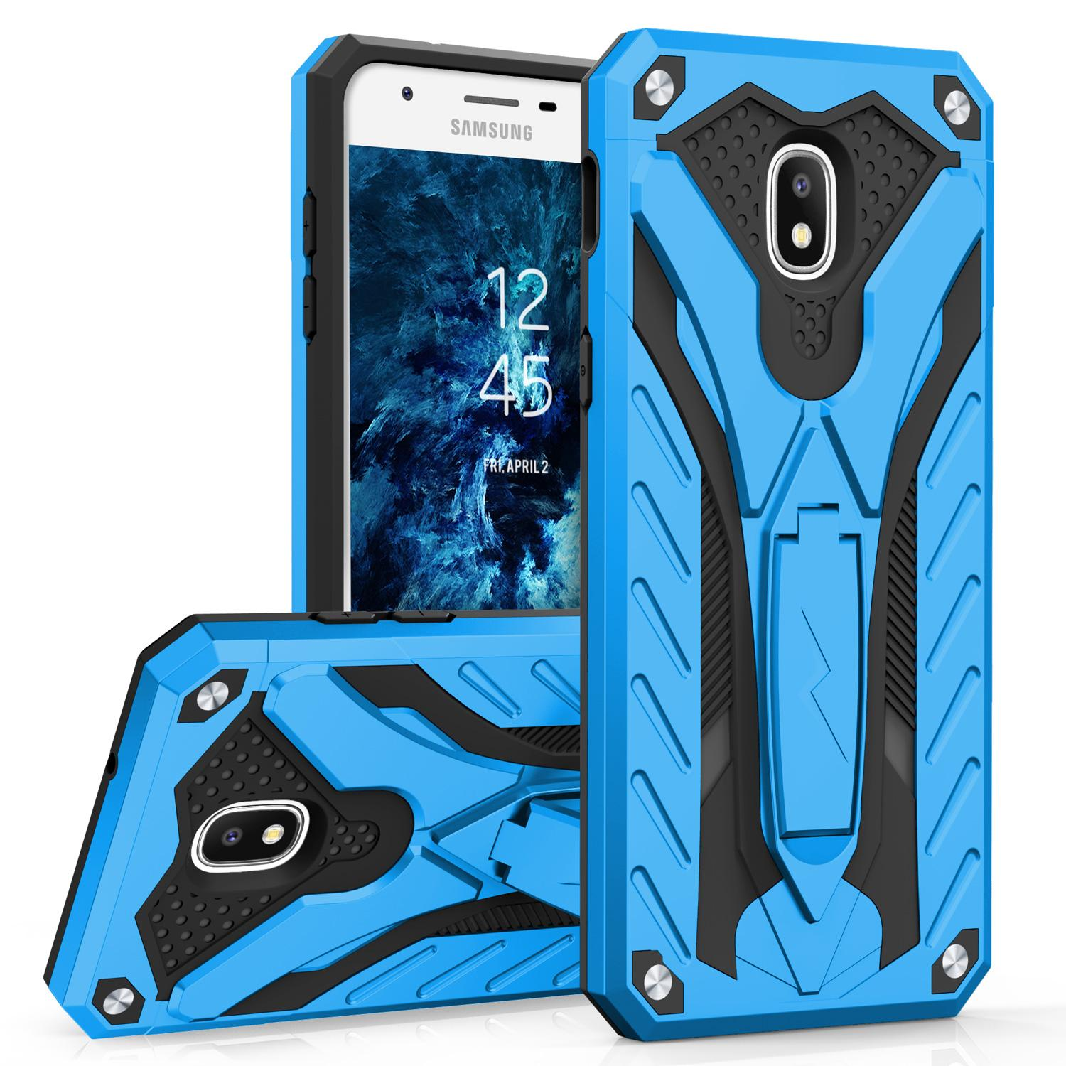 BLUE GALAXY J7 2018 STATIC CASE
