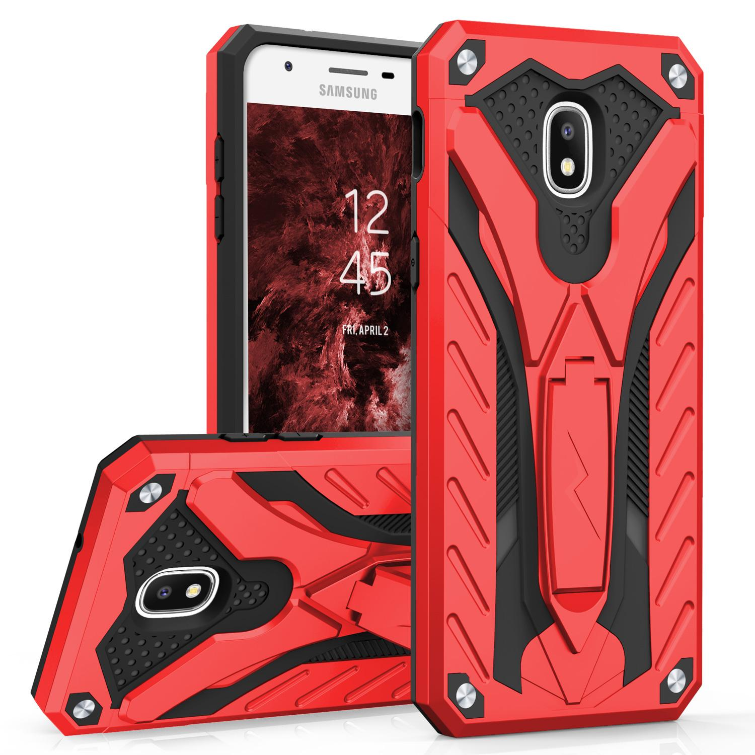 RED GALAXY J7 2018 STATIC CASE